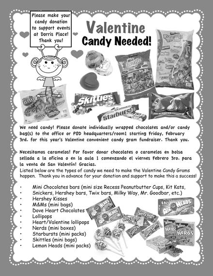 Candy Needed!