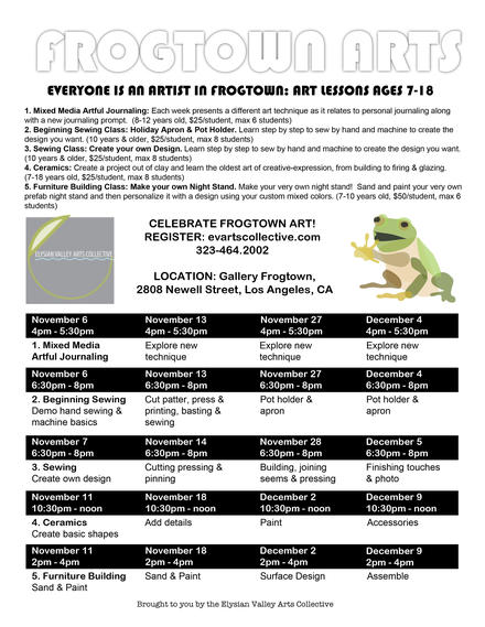 FrogTown Arts