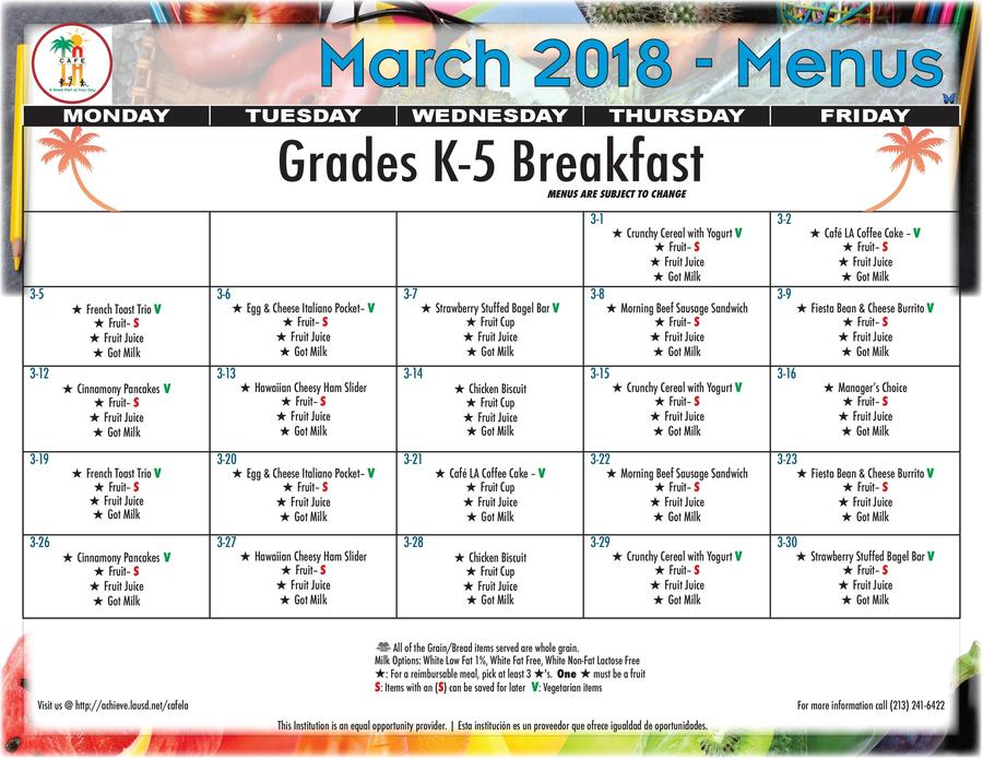 2018 March Breakfast Menu Grades K-5.jpg