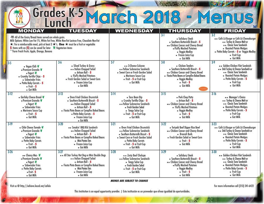 2018 March Lunch Menu Grades K-5.jpg